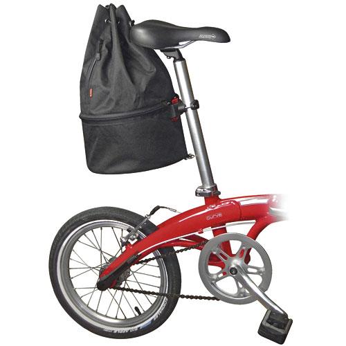 Sacca Matchpack Rixen Kaul su bicicletta