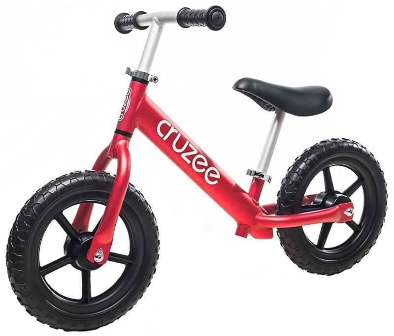 Bicicletta senza pedali rossa Cruzee