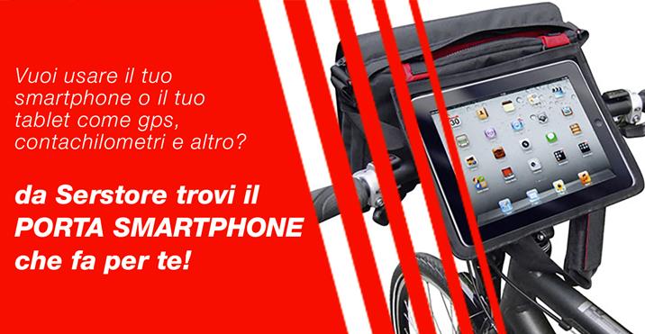 Pubblicità porta smartphone e tablet